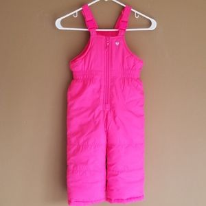 5/&20 CARTER'S Pink Snow Pants